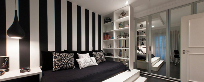 black and white themed living room decora 231 227 o preto e branco 3 dicas para coordenar os tons 25961