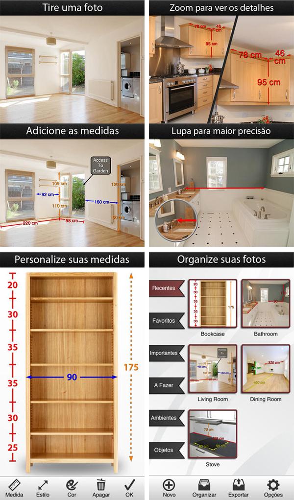 Apps Decoração Photo Measures