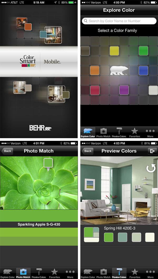 ColorSmart Apps Aplicação