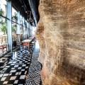 Hotel com referências Etnicas Alex Meitlis decoração  5