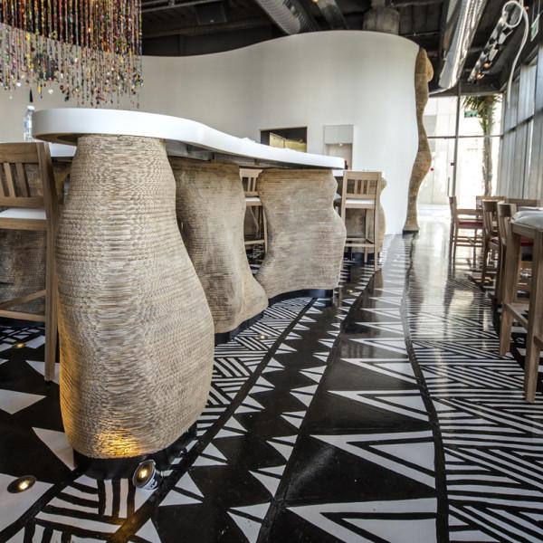 Hotel com referências Etnicas Alex Meitlis decoração 7