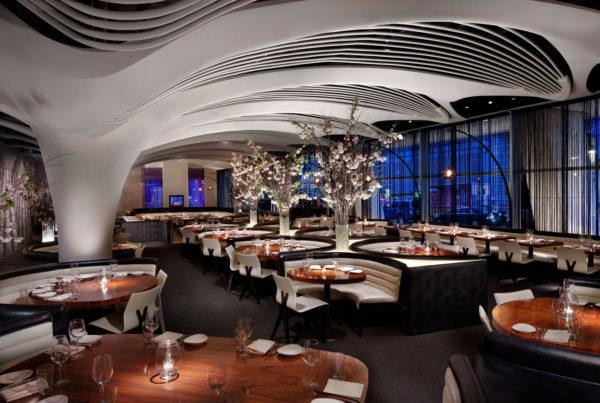 Pelo Mundo O décor sofisticado do restaurante STK em New York 2