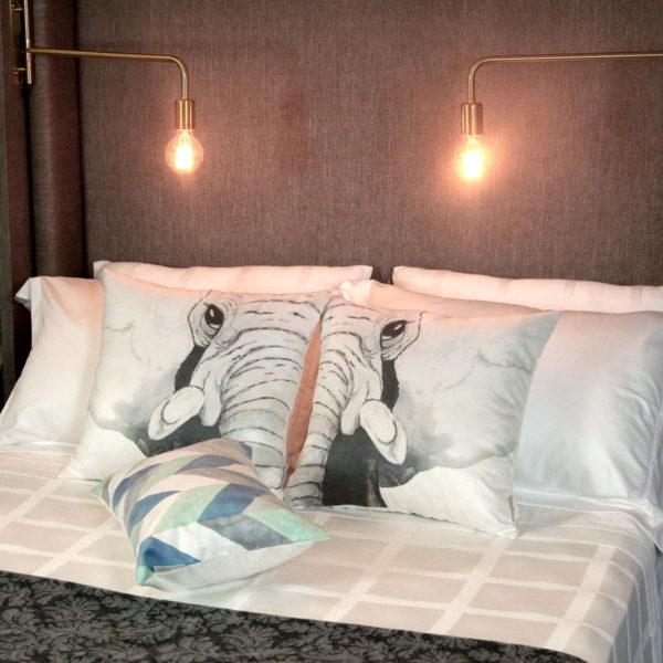 decor de inverno para a cama - como arumar a cama 2