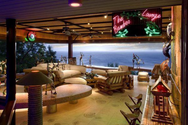 inspiração de décor exotico mansão de david bowie animal print no décor foto mandalay estate 10