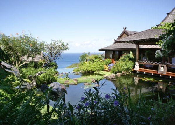 inspiração de décor exotico mansão de david bowie animal print no décor foto mandalay estate 3