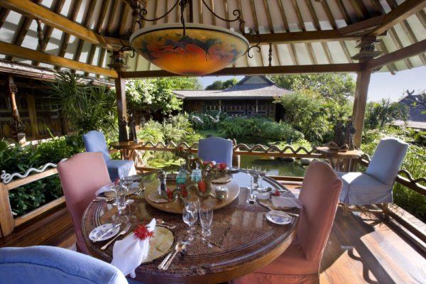 inspiração de décor exotico mansão de david bowie animal print no décor foto mandalay estate 5