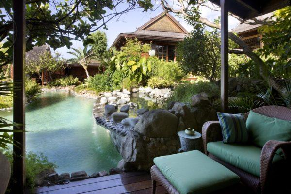 inspiração de décor exotico mansão de david bowie animal print no décor foto mandalay estate 8