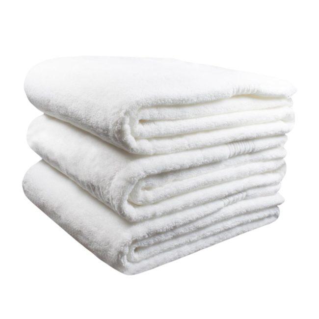 spa em casa toalha