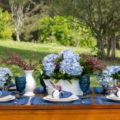 mesa posta azul