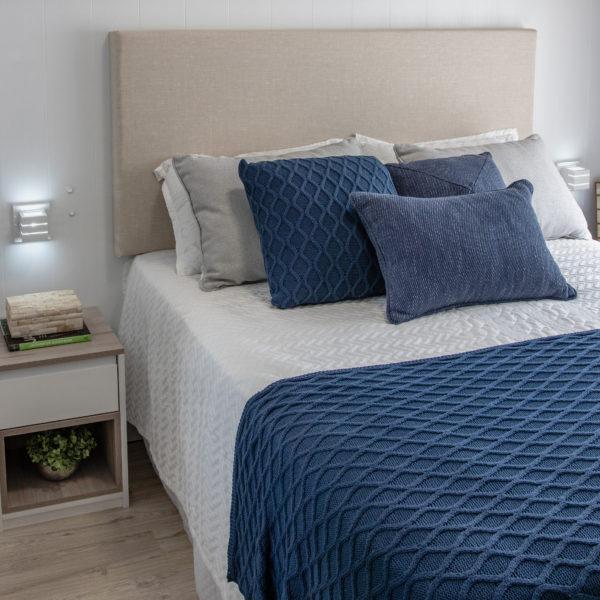 quarto azul