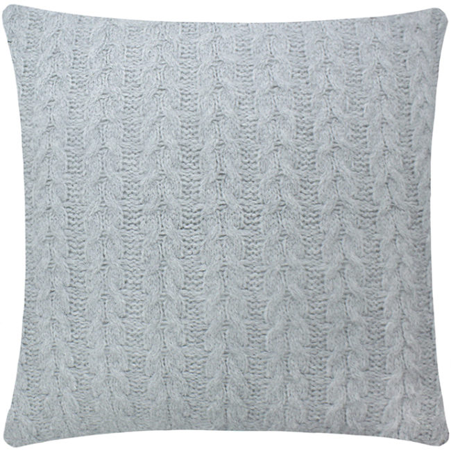 almofadas de tricot